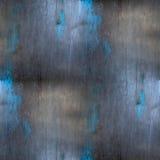 Gray senza cuciture d'acciaio del metallo del fondo del blu di ferro Immagini Stock Libere da Diritti