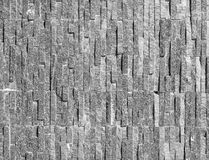 Gray sett bricks, texture or background, pavement. Stock Photos