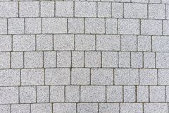 Gray sett background. Gray sett bricks - texture or background, pavement royalty free stock photography