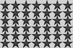 Gray Shaded Blurred Star Pattern sur l'illustration sans couture de fond blanc Conception moderne Peut être employé pour des affa illustration de vecteur