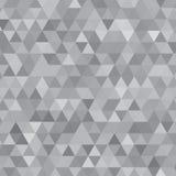 Gray Shades Background Square de acero de triángulos ilustración del vector