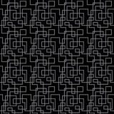 Gray sharp lines on black pattern seamless background Royalty Free Stock Photos