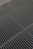 Gray shiny small grid with cells Royalty Free Stock Photos