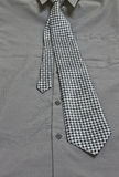 Gray Shirt And Tie photographie stock