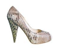 Gray shoe Royalty Free Stock Image