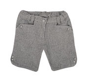 Gray shorts Royalty Free Stock Photo