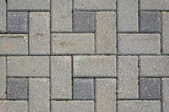 Gray Sidewalk Texture imagens de stock royalty free