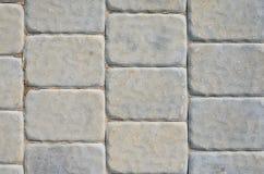 Gray Sidewalk Texture Arkivbild