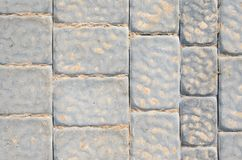 Gray Sidewalk Texture foto de stock