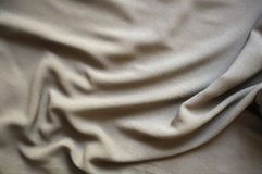 Gray silk drape Stock Images