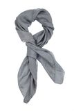 A gray silk neckerchief Royalty Free Stock Photography