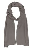 Gray silk scarf Stock Images