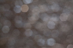 Gray Silver Background Blur. Defocused Gray Silver Background Bokeh Stock Photography