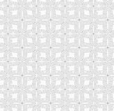 Gray simple four pedal geometric flowers Stock Image