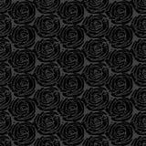 Gray simple rose pattern Royalty Free Stock Image