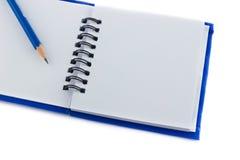 Gray sketch book Royalty Free Stock Photo