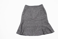 A Gray Skirt Stock Image