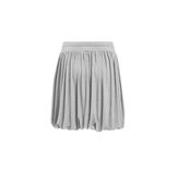 Gray skirt. On white background royalty free stock photography