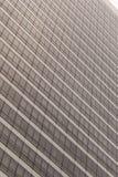 Gray skyscraper facade Royalty Free Stock Photos