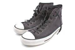 Gray sneaker Stock Image