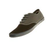 Gray sneaker  Stock Photos