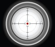 Gray sniper target vector illustration