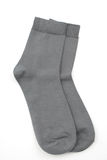 Gray socks Royalty Free Stock Image