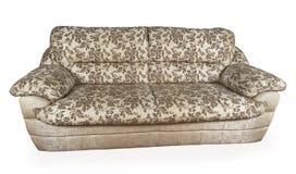 Gray sofa Royalty Free Stock Photos