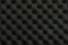 Gray sound acoustic noise absorbing. Foam pattern stock image