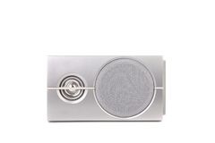 Gray sound speaker. Stock Images