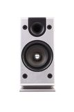 Gray sound speaker. Stock Photo