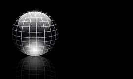 Gray sphere Stock Images