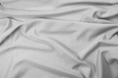 Gray sport fabric texture Stock Photo