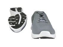 Gray Sport Shoes Image stock