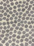 Gray spot carpet texture and background stock image