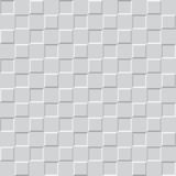Gray square pattern - vector seamless background Stock Images