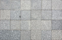 Gray Square Pavement. Stock Image