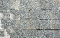 Gray Square Pavement. Stock Photos