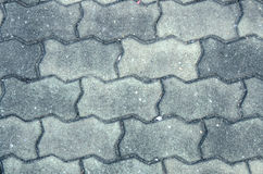 Gray squared floor concrete block background Stock Image