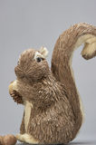Gray Squirrel (ornement) Images stock