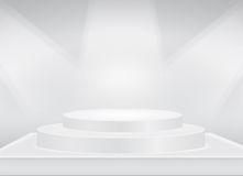 Gray Stage background. Stage background for present every thing you want Royalty Free Stock Image