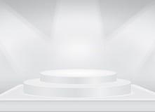 Gray Stage-Hintergrund Lizenzfreies Stockbild