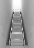 Gray stair Stock Photography