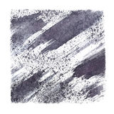 Gray stenciled square Royalty Free Stock Photography