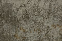Gray stone texture of a concrete dirty wall in the foundation of a building stock image