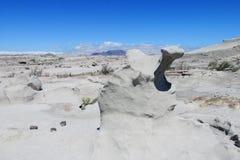 Gray stone desert Ischigualasto, Argentina Stock Photos