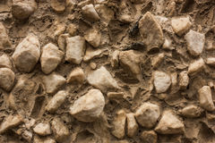 Gray stone gravel background texture. Stock Images