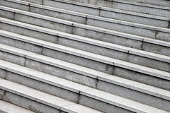 Gray stone steps Royalty Free Stock Photos
