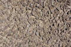 Gray stone stylized wall texture. Royalty Free Stock Photography
