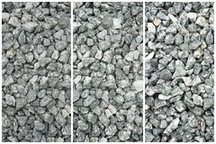 Gray Stone Texture Collage esmagado - fundo abstrato imagens de stock royalty free